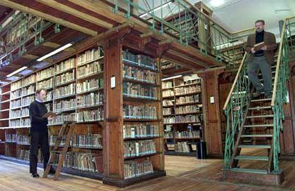 Göttinger Uni-Bibliothek: Die Hochschule als Rückzugsgebiet