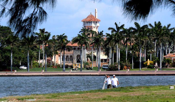 Trumps Florida-Domizil Mar-a-Lago