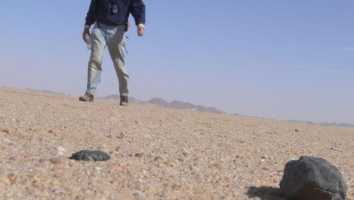 Almahata Sitta: Brocken aus dem Planeteninnern