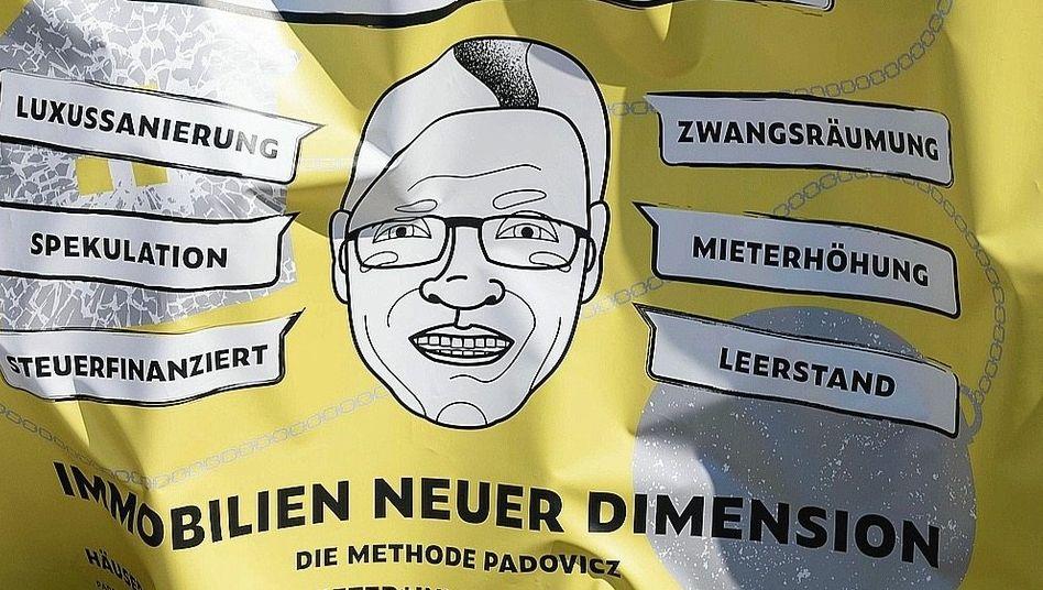 Proteste gegen Vermieter Padovicz: Der Bezirk hat ihn hofiert