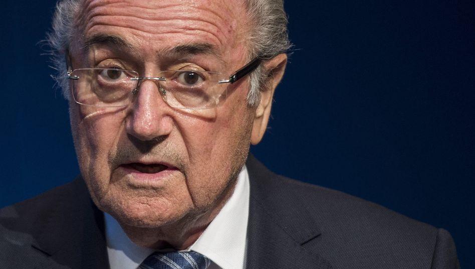 Fifa-Chef Blatter: Ihm drohen Ermittlungen wegen Veruntreuung