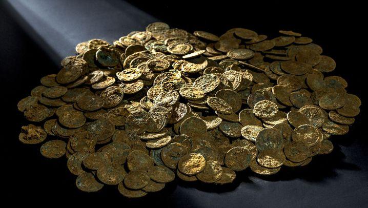Münzfund: Geldanlage aus Silber