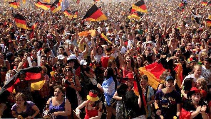 Fanfest-Impressionen: Deutsche feiern ihre Fußballhelden