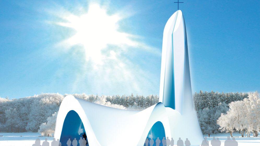 Photo Gallery: German Village Plans Snow Church
