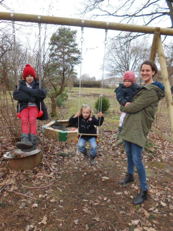 Mit den Kindern im Garten