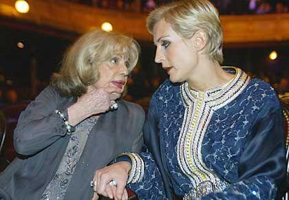 Jeanne Moreau im Gespräch mit Mélita Toscan du Plantier