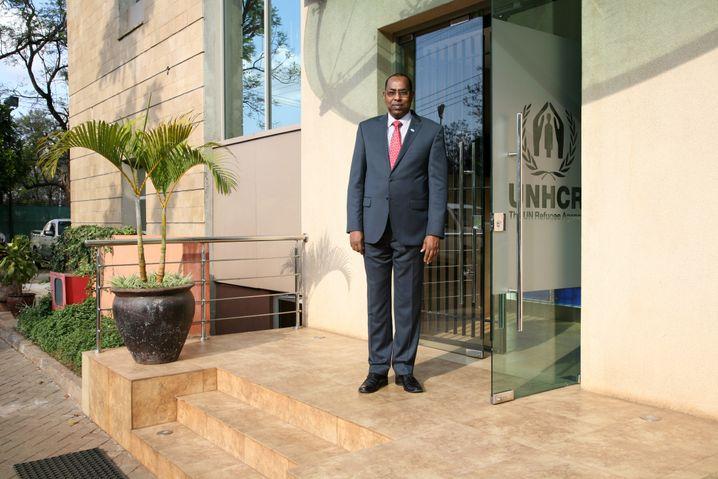 Sondergesandter Affey in Nairobi
