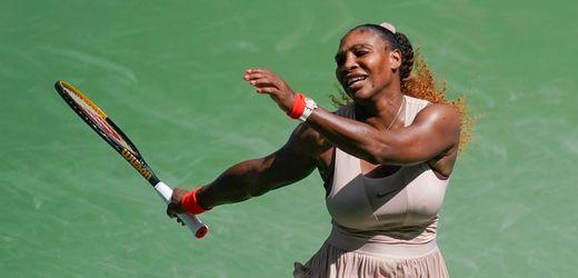 US Open: Serena Williams siegt und schweigt zu Novak Djokovic