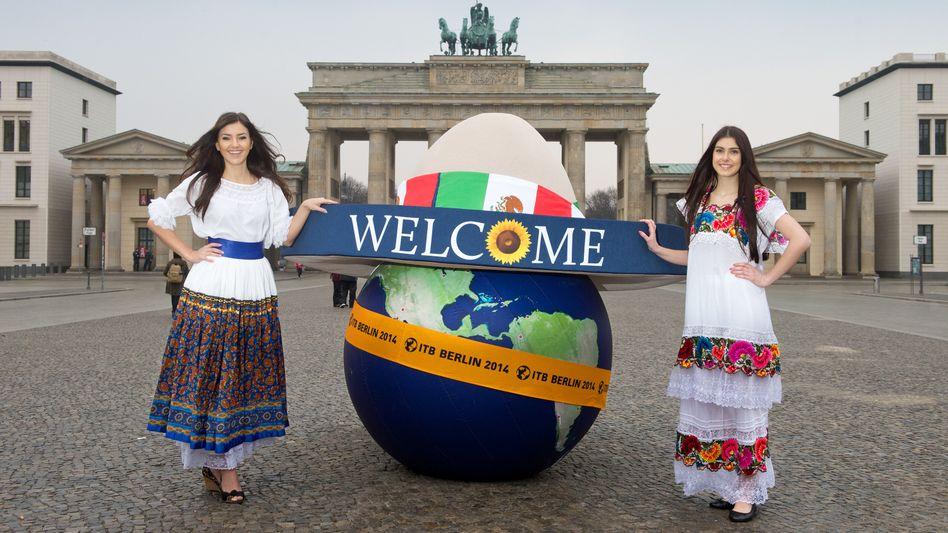 Werbung für die ITB: Mexiko ist in diesem Jahr offizielles Partnerland