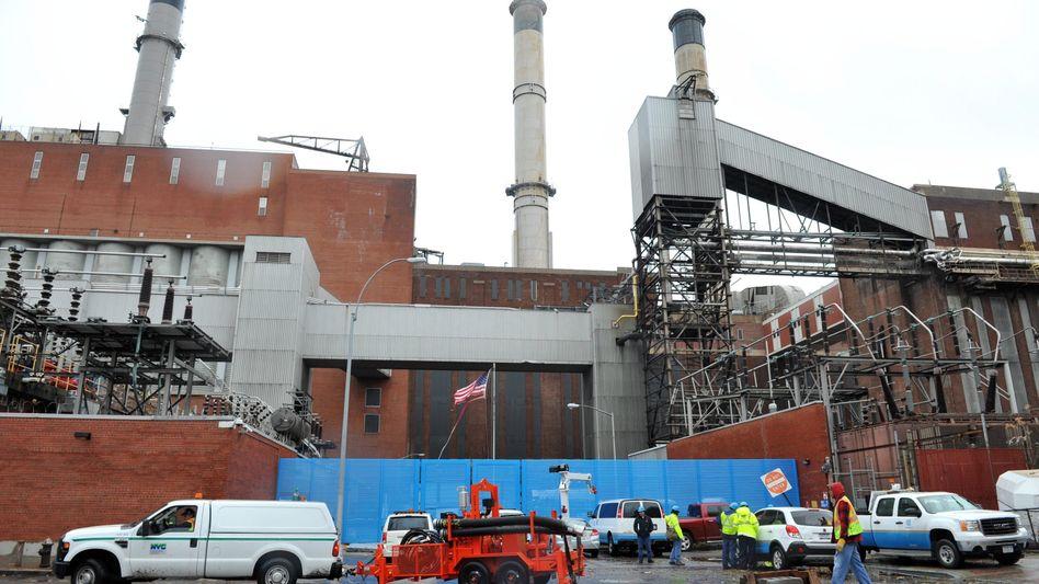 Kraftwerk in New York (Symbolbild): Experten berichten über Virenfunde im Energiesektor