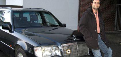 Carmine di Pierro und sein Mercedes-Benz: Solide Technik, akzeptabler Verbrauch