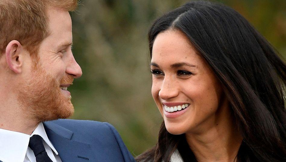 Bei der Bekanntgabe der Verlobung von Harry und Meghan im November 2017 herrschte im Hause Windsor noch gute Stimmung