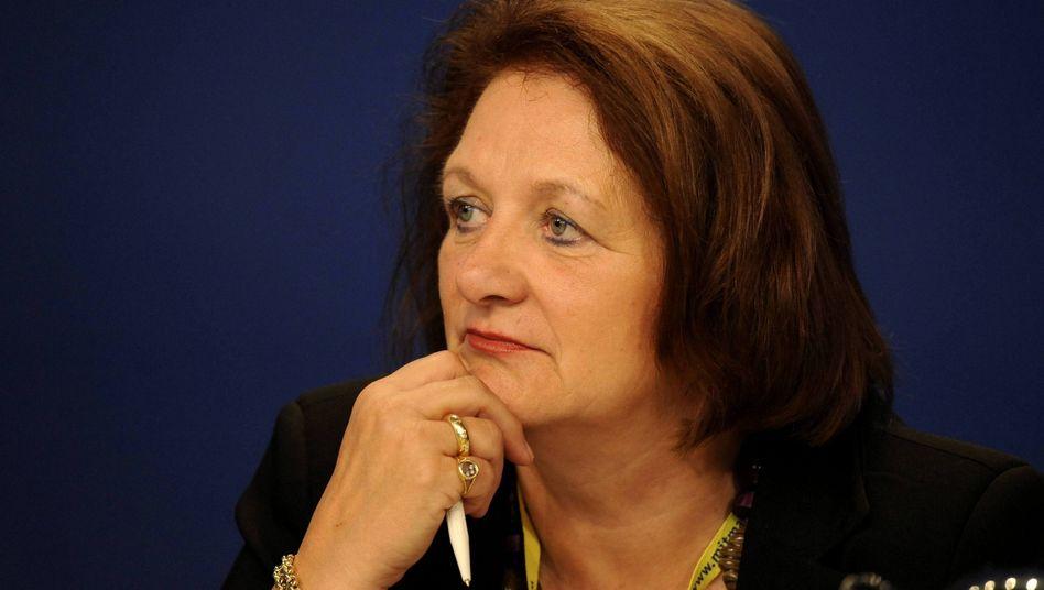 """Ministerin Leutheusser-Schnarrenberger (Archivbild): """"Mahnung wurde nicht gehört"""""""