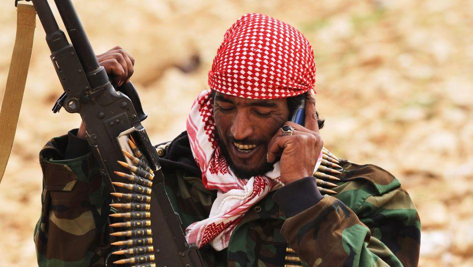 Libyscher Rebell: Ein unabhängiges Mobilfunknetz für den Ostteil Libyens