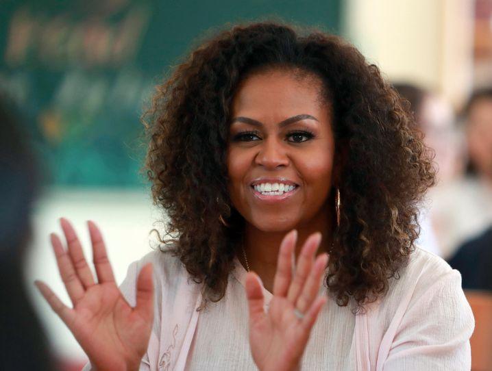 Für viele Demokratinnen und Demokraten ein Traum: Michelle Obama im Weißen Haus
