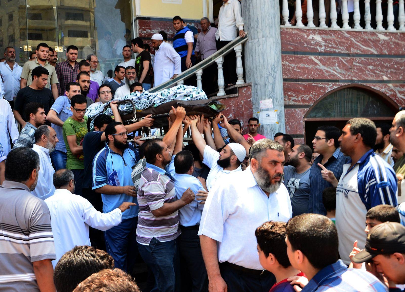 Ägypten/ Mursi Anhänger/ Beerdigung