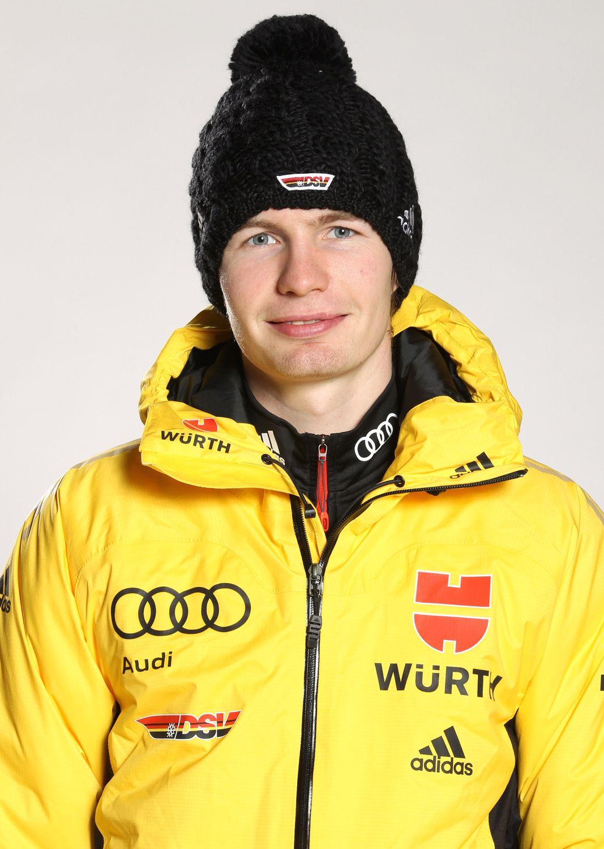 EINMALIGE VERWENDUNG Skispringer/ Danny Queck