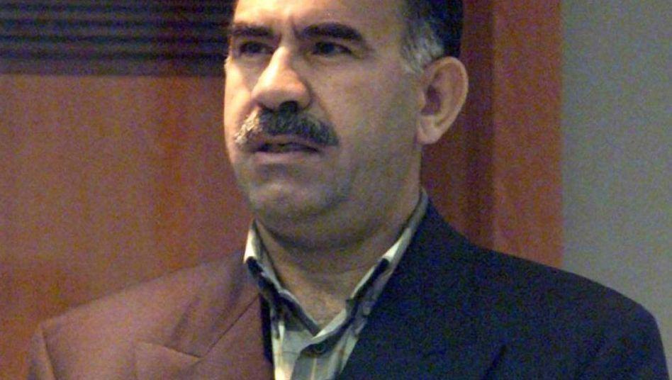 Öcalan, 1999, auf der Gefängnisinsel Imrali