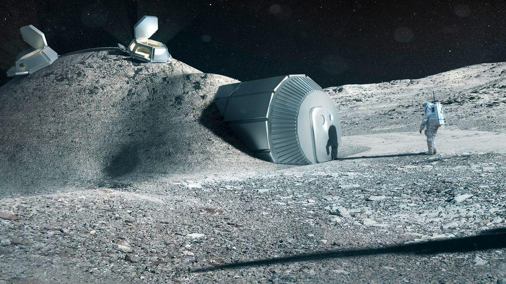 Esa-Plan: Selbstgedrucktes auf dem Mond
