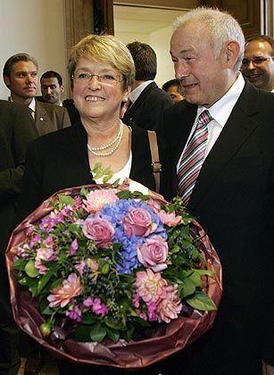 """Ober-Bayer Beckstein, Gattin Marga: """"Schönste Aufgabe"""""""
