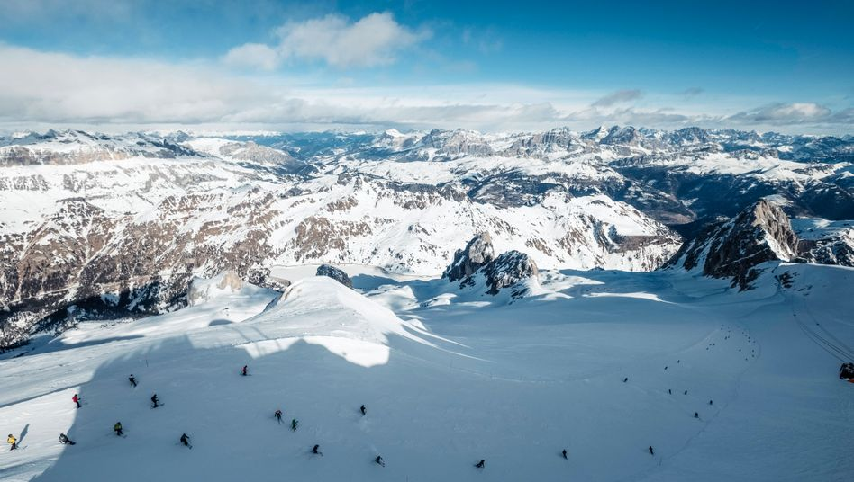 Skigebiet in der italienischen Provinz Trient