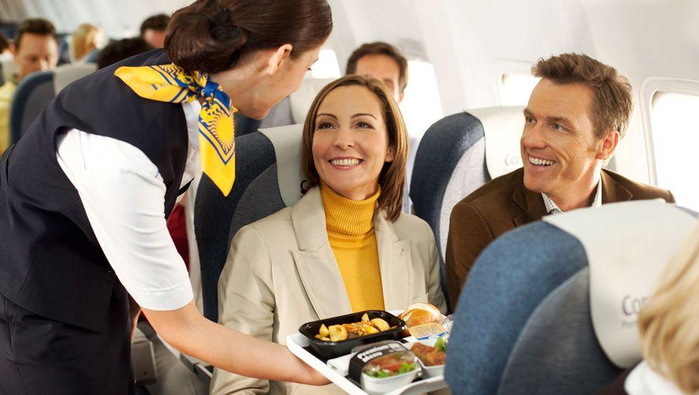 Verpflegung unterwegs: Futterneid im Flugzeug