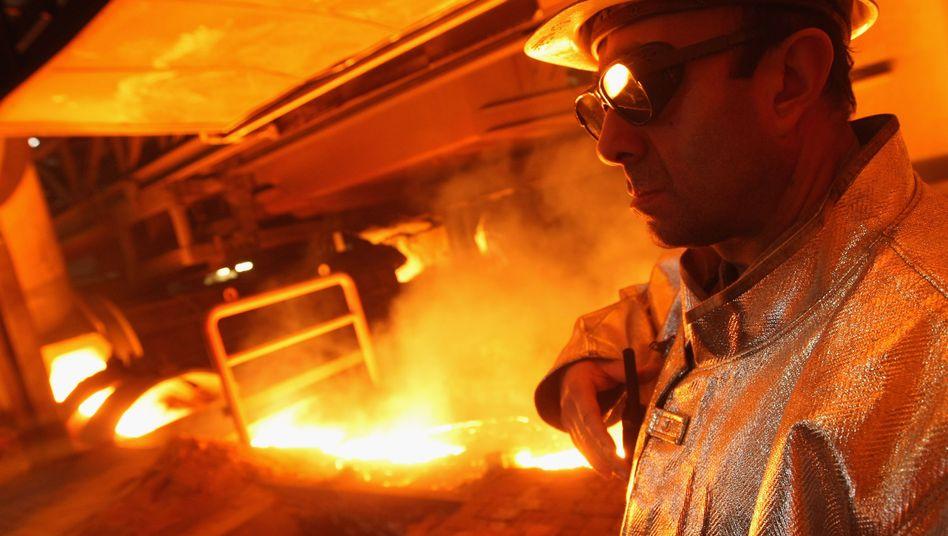 Stahlarbeiter: Institut hält Vollbeschäftigung auch nach strenger Definition für möglich