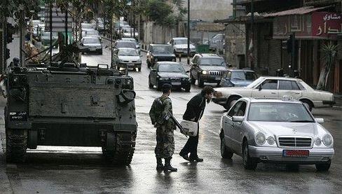 """Panzer in Beirut: """"Wir bräuchten ein Wunder."""""""