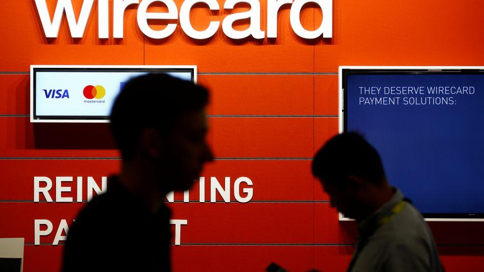 """Wirecard-Messestand (Archivbild): """"Entweder ist die FIU überfordert, oder sie haben den Ernst der Lage nicht erkannt"""""""