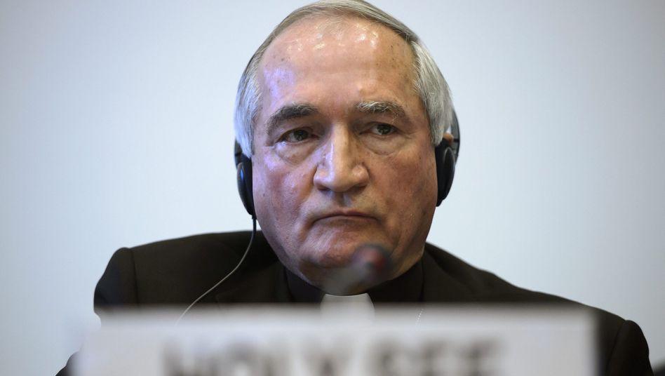 Vatikan-Botschafter Tomasi: Anhörung in Genf