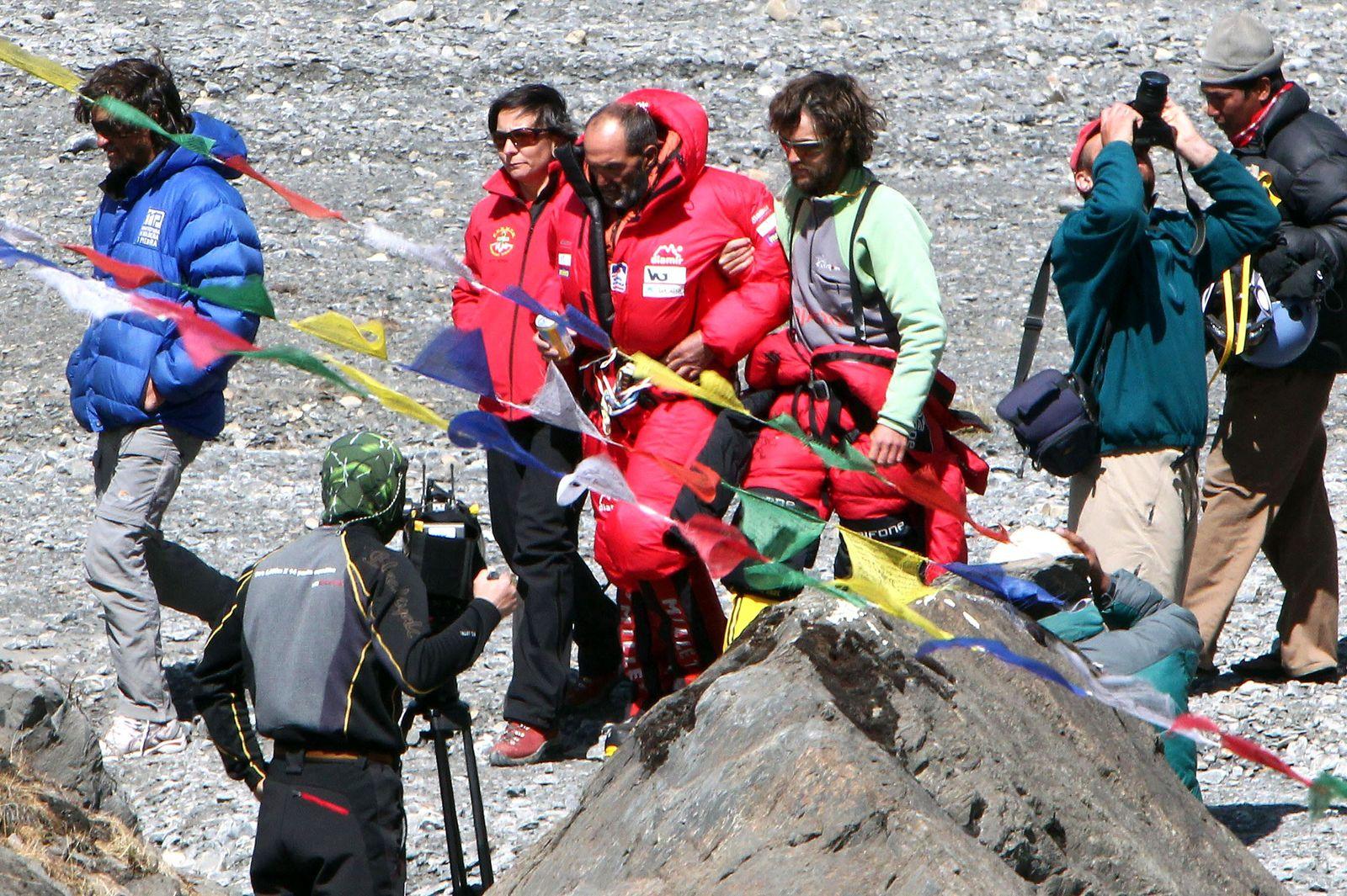 Bergsteiger stirbt an der Annapurna