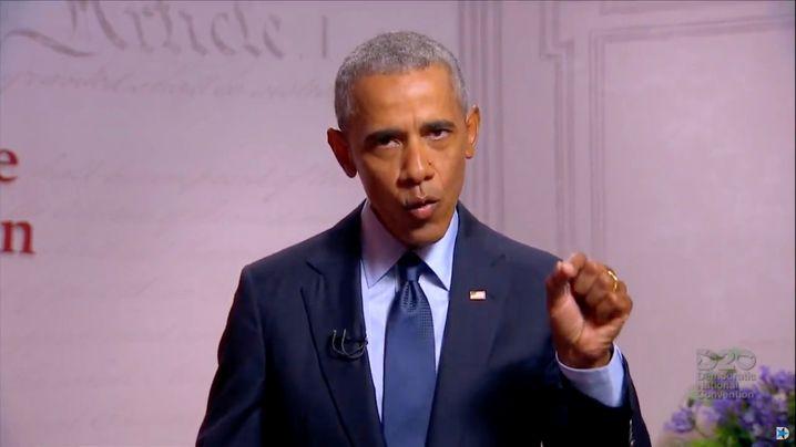 Ex-Präsident Barack Obama rechnete mit seinem Amtsnachfolger Donald Trump ab