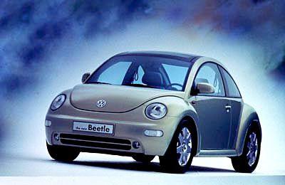 Demnächst billiger: der New Beetle