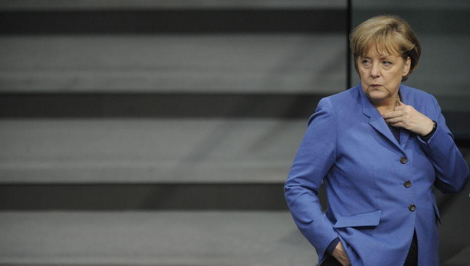 """Angela Merkel im Bundestag: """"Ausstieg mit Augenmaß"""""""