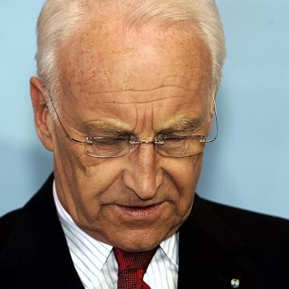 Bavarian Governor Edmund Stoiber announced on Thursday he was stepping down as Bavaria's governor.