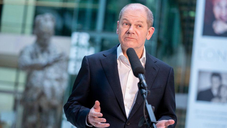 SPD-Kanzlerkandidat Olaf Scholz: »Früh auf dem Platz«