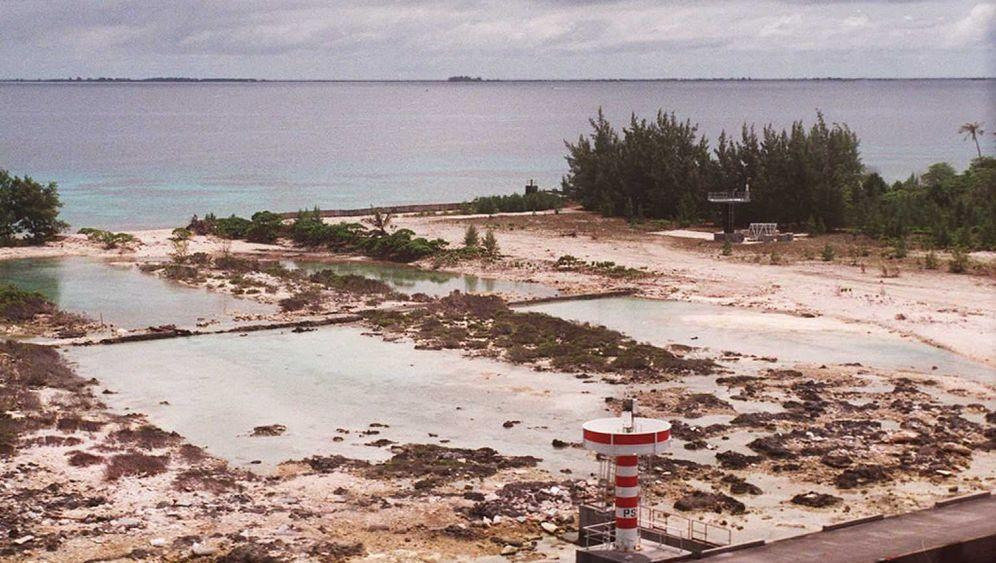 Mururoa-Atoll: Schwimmen in der Atom-Lagune? Kein Problem!