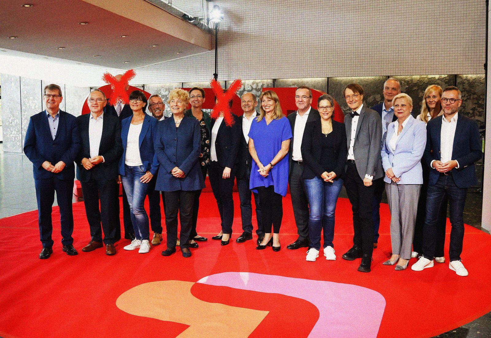 EINMALIGE VERWENDUNG GERMANY-POLITICS/SPD