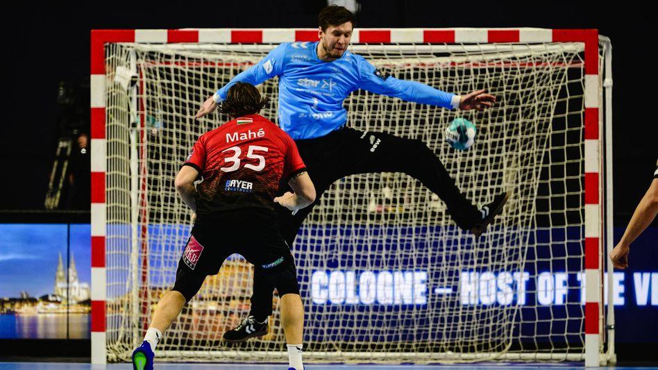 Hier im Trikot des THW Kiel, bei der WM für Dänemark aktiv: Torwart-Superstar Niklas Landin