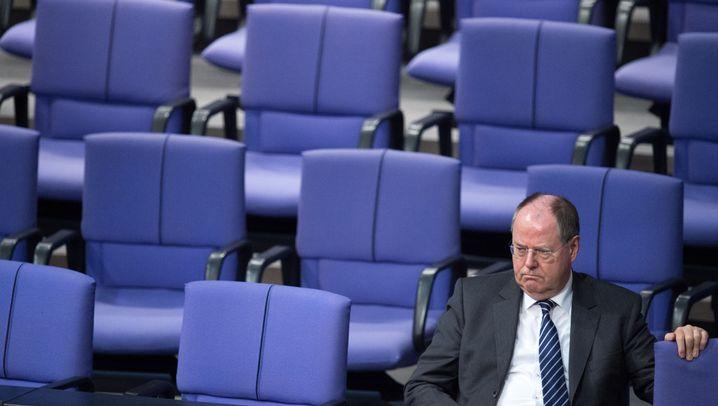 Ex-Finanzminister Steinbrück: Schnupftabak und Mittelfinger