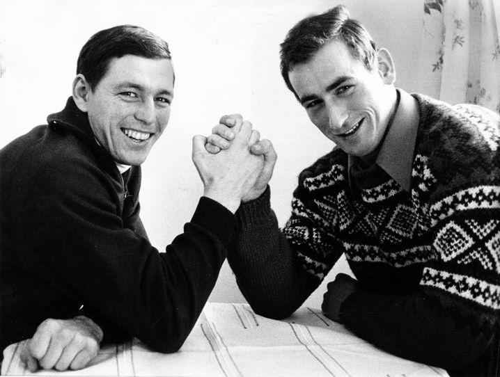 Keller (links) und Pöhland 1970