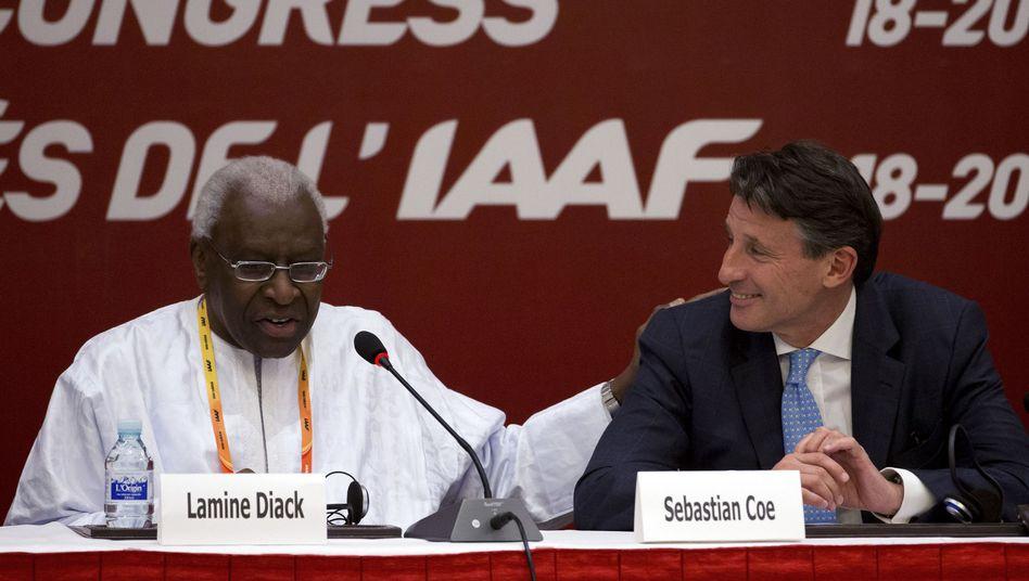 """Ex-IAAF-Chef Diack, Nachfolger Coe: """"Widerliche Vorwürfe"""""""