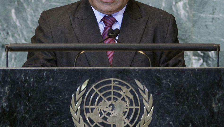 Der Ministerpräsident Papua-Neuguineas O'Neill: Krise beendet