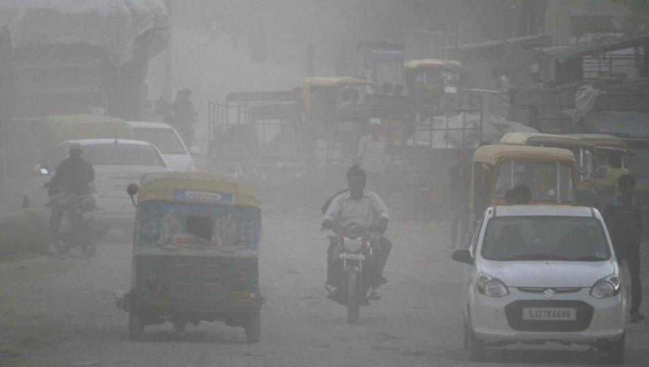 Industriegebiet in Indien: Die schlimmsten Verschmutzer sind nicht dabei