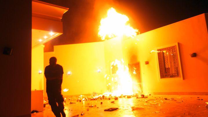 Wut über US-Film: Gewalt in Kairo und Bengasi