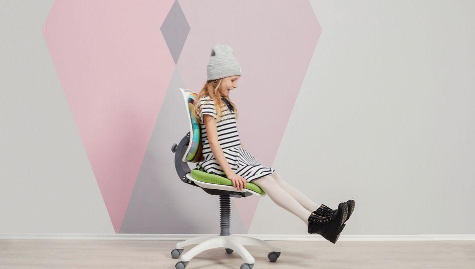 Bürostuhl fürs Kind: Fehlt nur noch der Schreibtisch