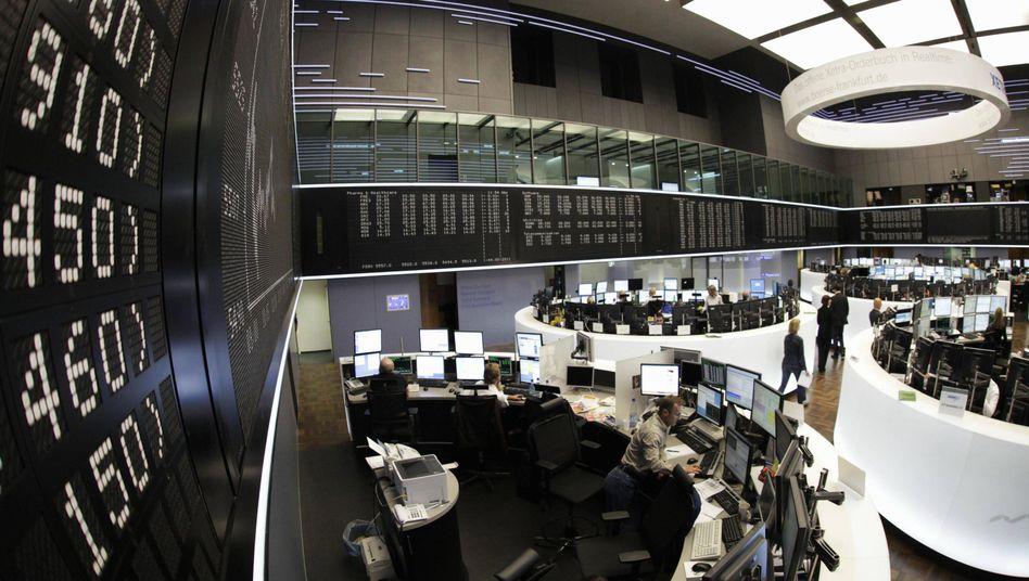 Frankfurter Börse: Der Dax knackte Ende 2009 sogar die 6000-Punkte-Marke