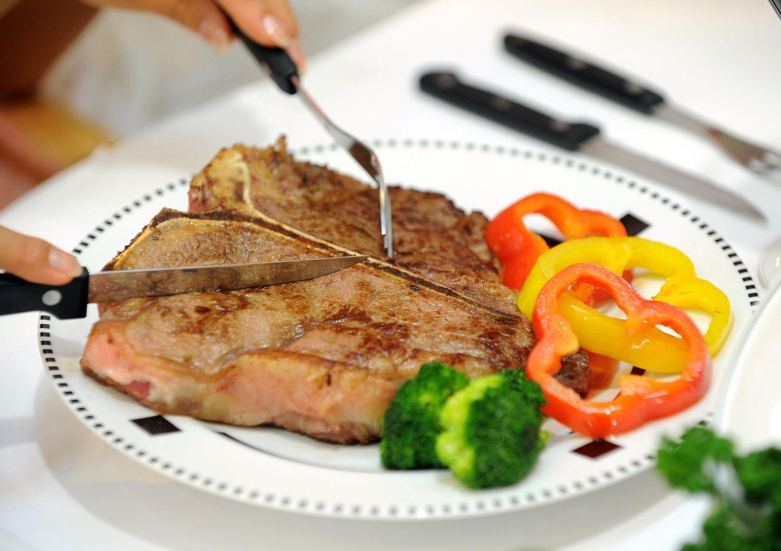 Steak rotes Fleisch