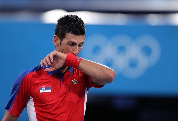 Frustriert und hilflos: Novak Djoković