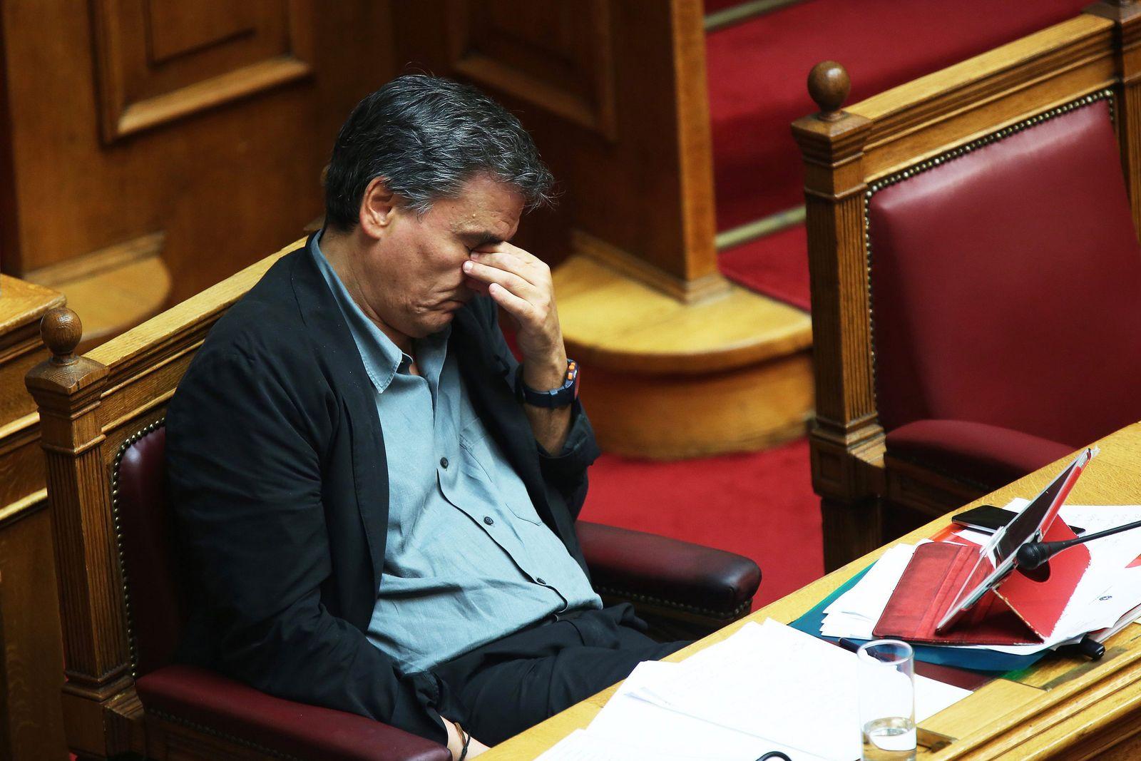 Griechenland Finanzminister Tsakalotos